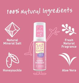 Salt of the Earth Salt of the Earth - Natuurlijke deo pure aura spray lavender&vanilla 100 ml