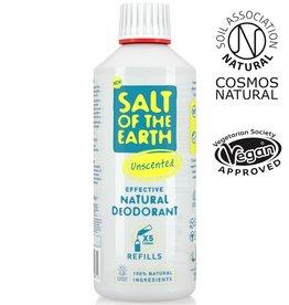 Salt of the Earth Salt of the Earth - Unscented Spray Refill 500 ml