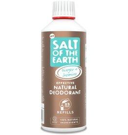 Salt of the Earth Salt of the Earth - Ginger & Jasmine Spray Refill 500 ml