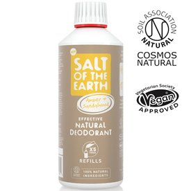 Salt of the Earth Salt of the Earth - Amber & Sandalwood Spray Refill 500 ml