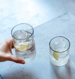"""IWAS Drinkglazen set """"Clear"""" short - set 6 glazen"""