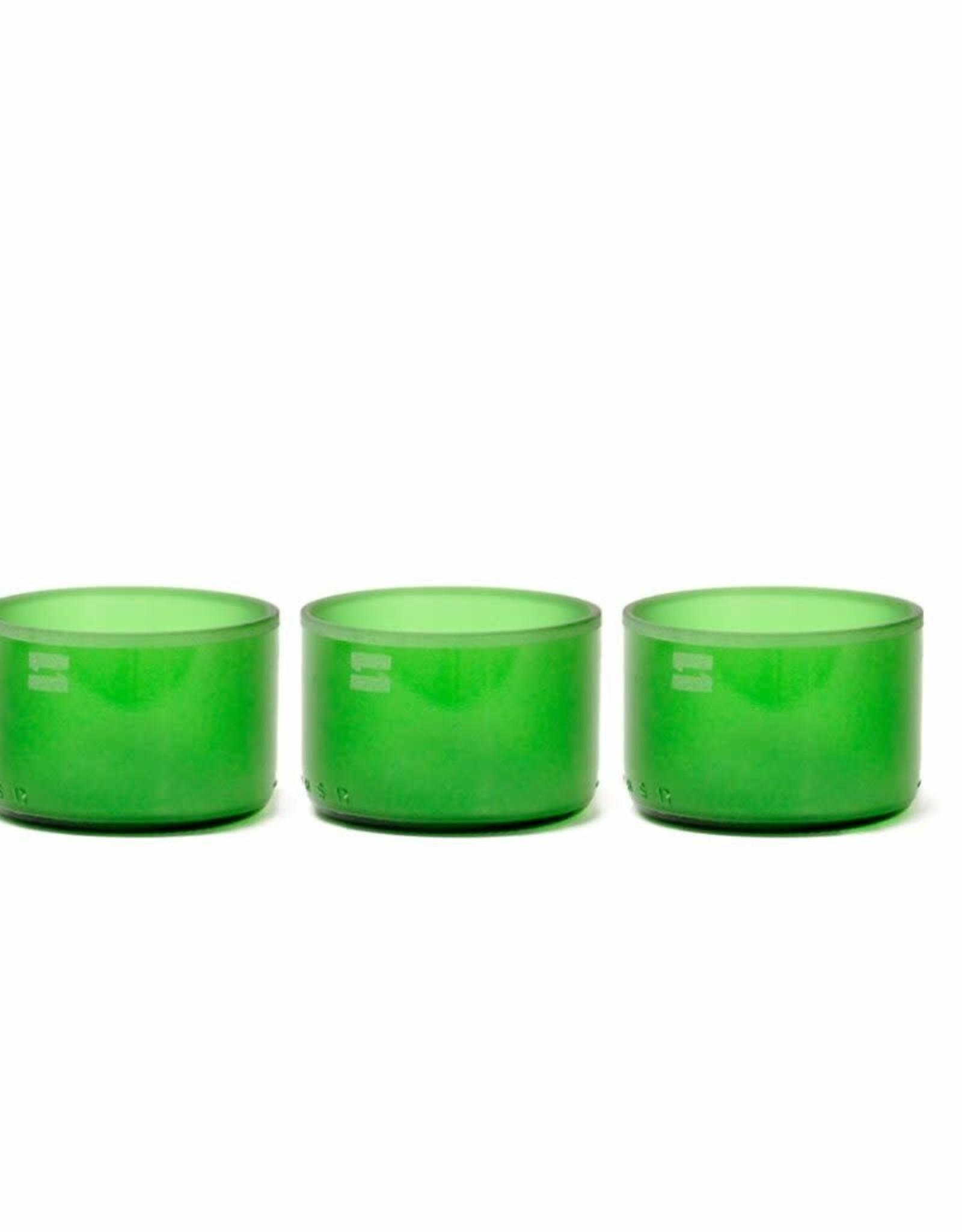 IWAS Bowls 'Green' - 3 multifunctionele kommetjes