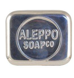 aleppo soap co Zeepdoos aluminium leeg voor Aleppo zeep
