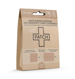Patch PATCH Naturel - Bamboepleister Large  - 10 stuks
