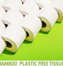The Cheeky Panda The Cheeky Panda - Bamboo Toilet papier 4 rollen - 200 sheets per rol