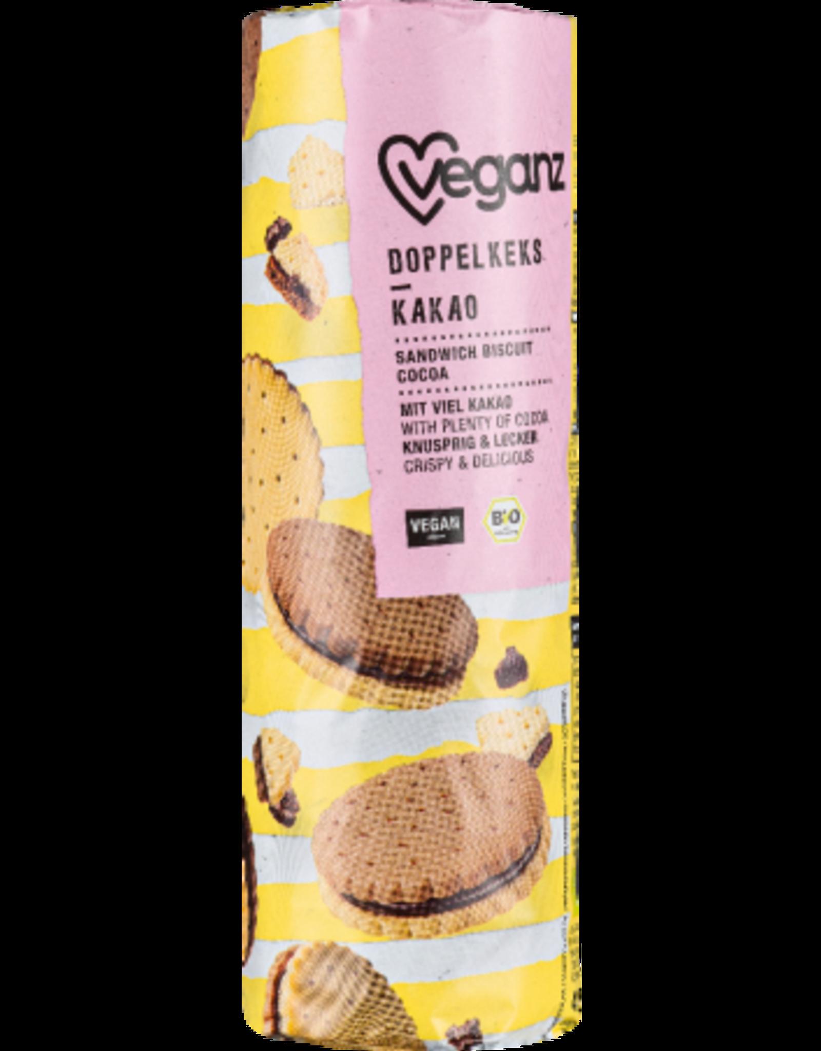 veganz Biscuits Fourrés Bio Goût Kakao - Veganz 400g