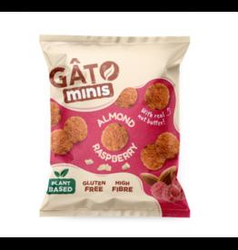 Gâto Mini Biscuits framboos & amandel 33g
