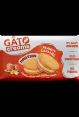 Gâto Biscuits protéinés fourrés de crème de caramel aux cacahuètes - Gâto 50g
