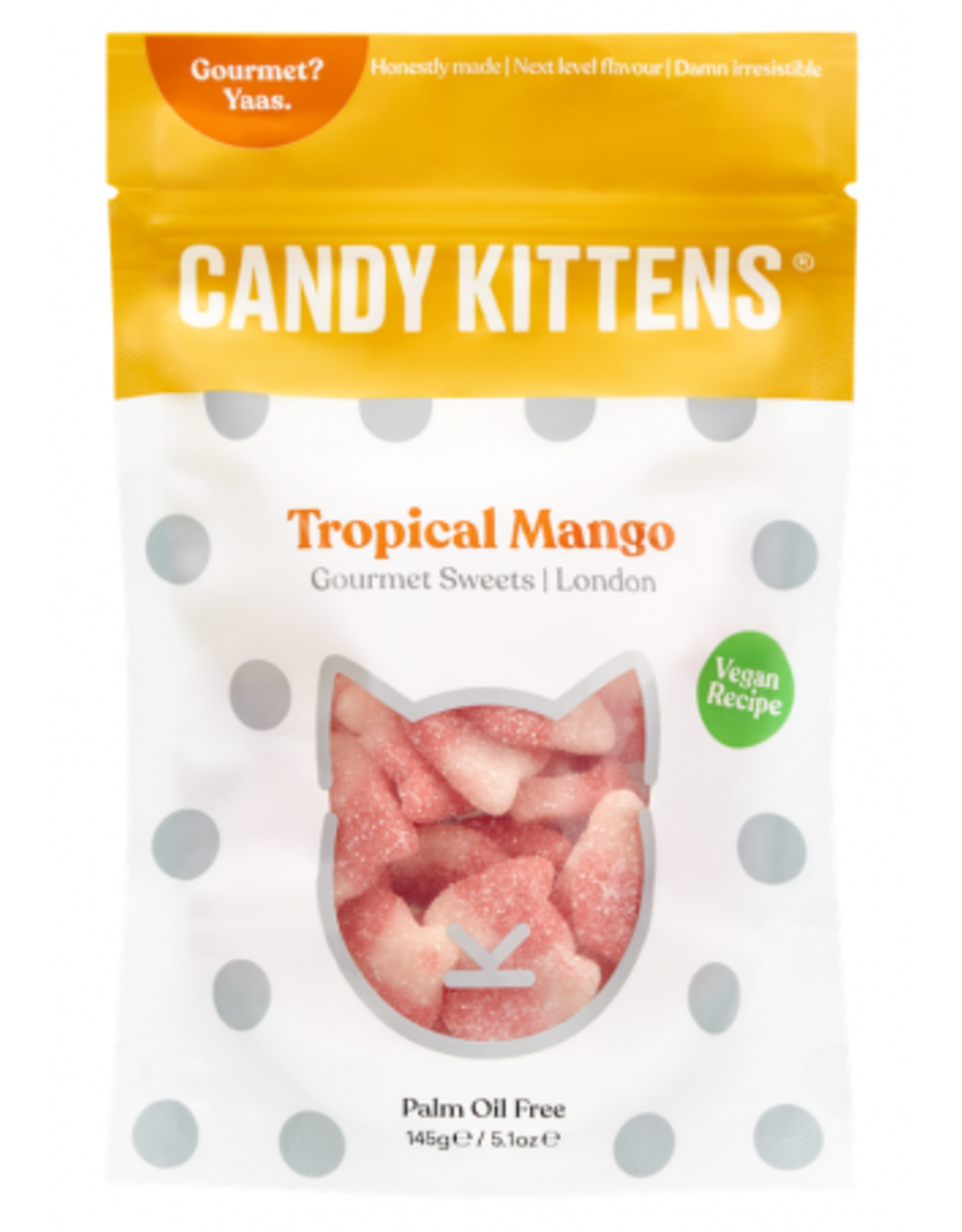 Candy Kittens Candy Kittens Tropical Mango 125g