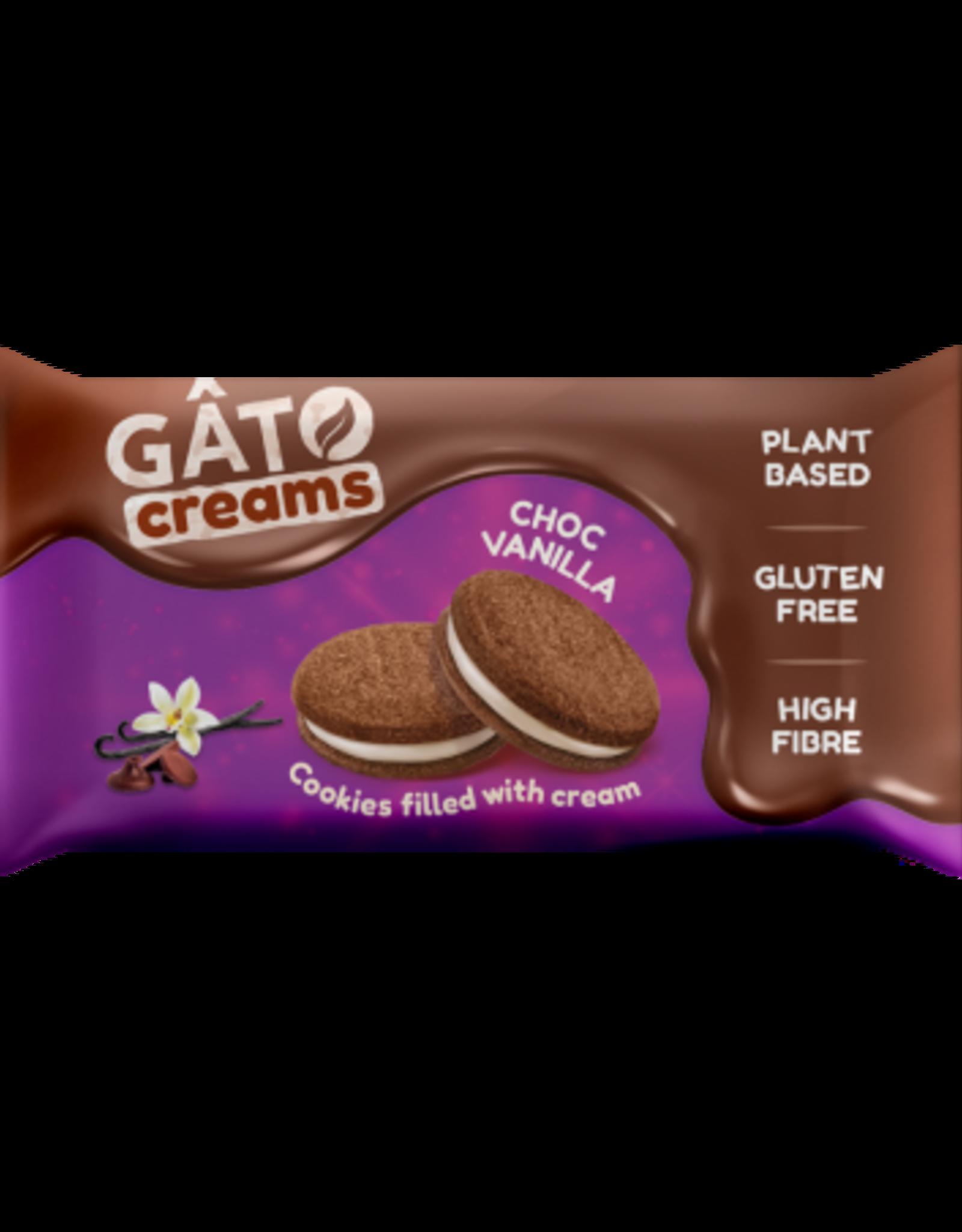 Gâto Biscuits au Chocolat fourrés de crème à la Vanille - Gâto 42g
