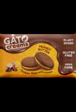 Gâto Biscuits au chocolat fourrés à la crème au beurre de cacahuète - Gâto 42g
