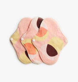 ImseVimse Panty liner, Pink Hoop, pack of 3