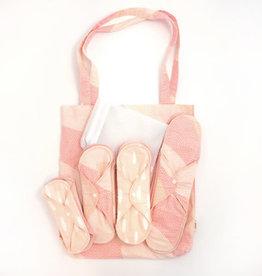 ImseVimse Starter Kit Pink Sprinkle - Cloth Pads Classic