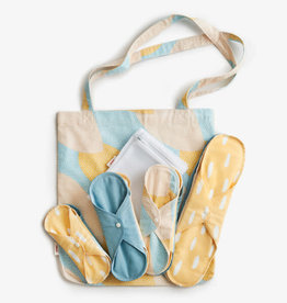 ImseVimse Starter Kit Blue Sprinkle - Cloth Pads Classic