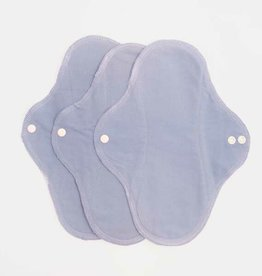 ImseVimse Sanitary Pads, Regular, Denim Solid, pack of 3