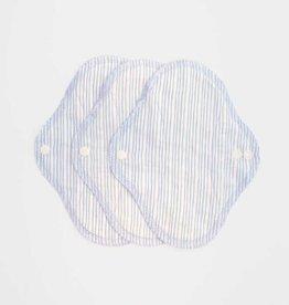 ImseVimse Panty liner, Denim stripes, pack of 3