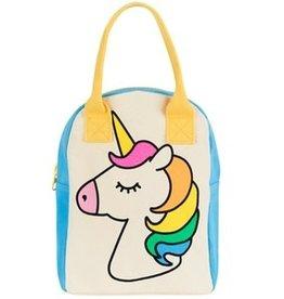 Fluf Fluf - Zipper Lunch Bag Unicorn