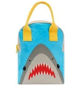 Fluf Fluf - Zipper Lunch Bag Shark