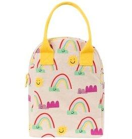 Fluf Fluf - Zipper Lunch Bag Rainbows
