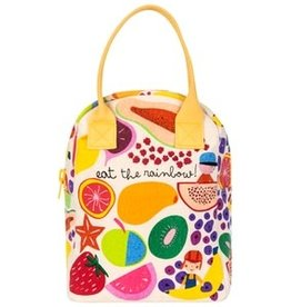 Fluf Fluf - Zipper Lunch Bag Eat the Rainbow
