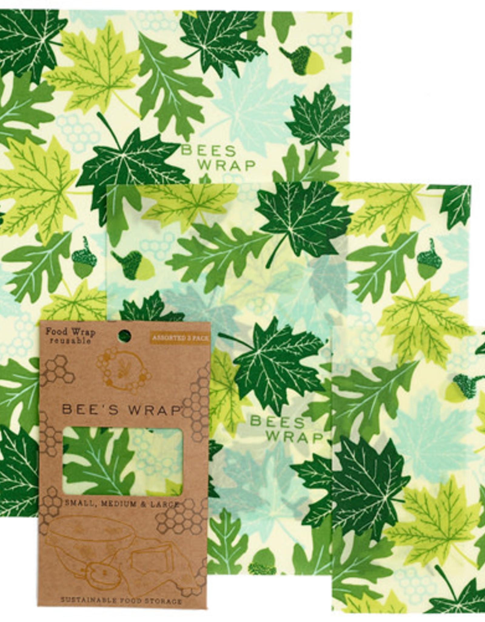 "Bee's Wrap Bee's Wrap - 3-pack Assorted ""Forest Floor"""