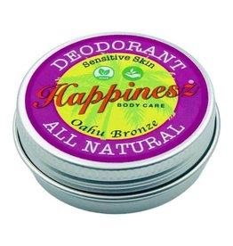 Happinesz Oahu Bronze Sensitive Skin Vegan Deodorant - bronze getint - 30g
