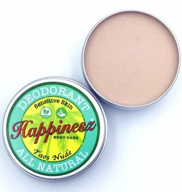 Happinesz Taos Nude Sensitive Skin Vegan Deodorant - licht getint - 30g