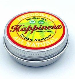 Happinesz Urban Summer Sensitive Skin Vegan Deodorant 30g