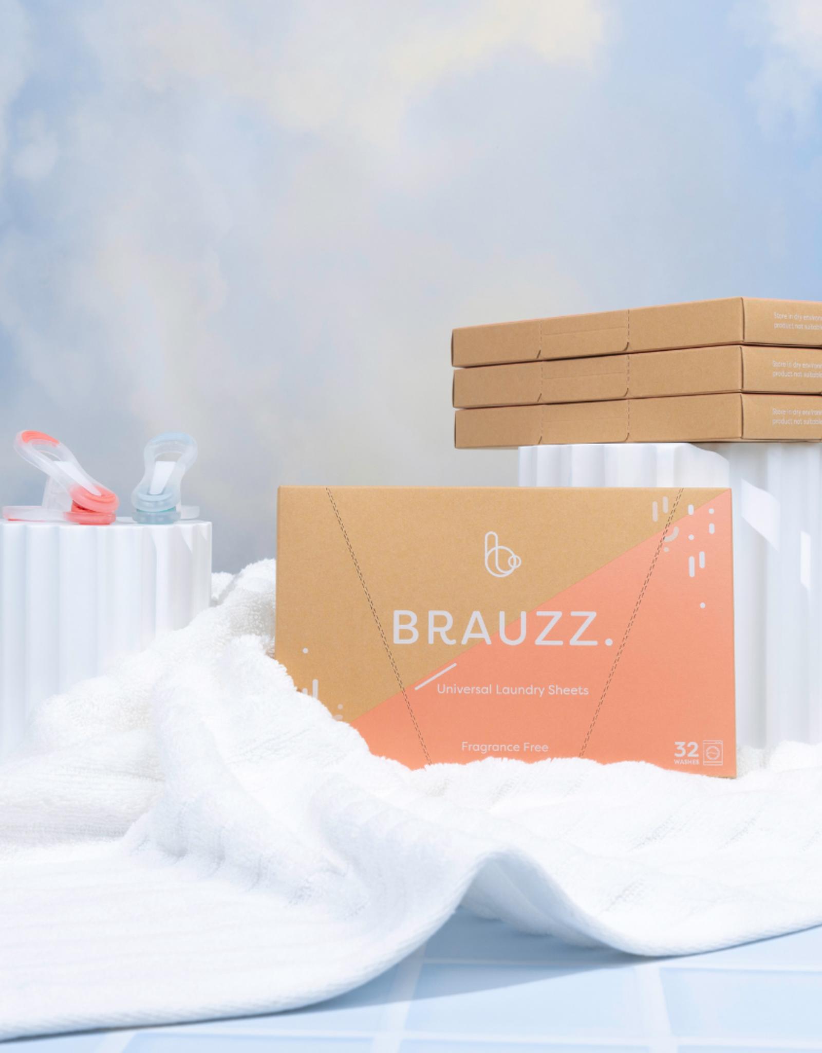 Brauzz Brauzz. - Universele wassheet - fragrance free - 32 wasbeurten
