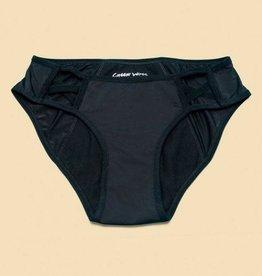 Cheeky Wipes Menstruatie ondergoed Feeling Sassy zwart