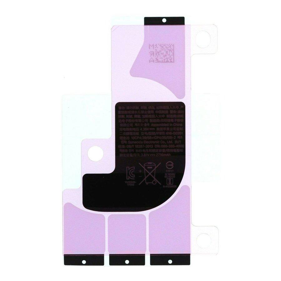 iPhone X/XS batterij stickers-1