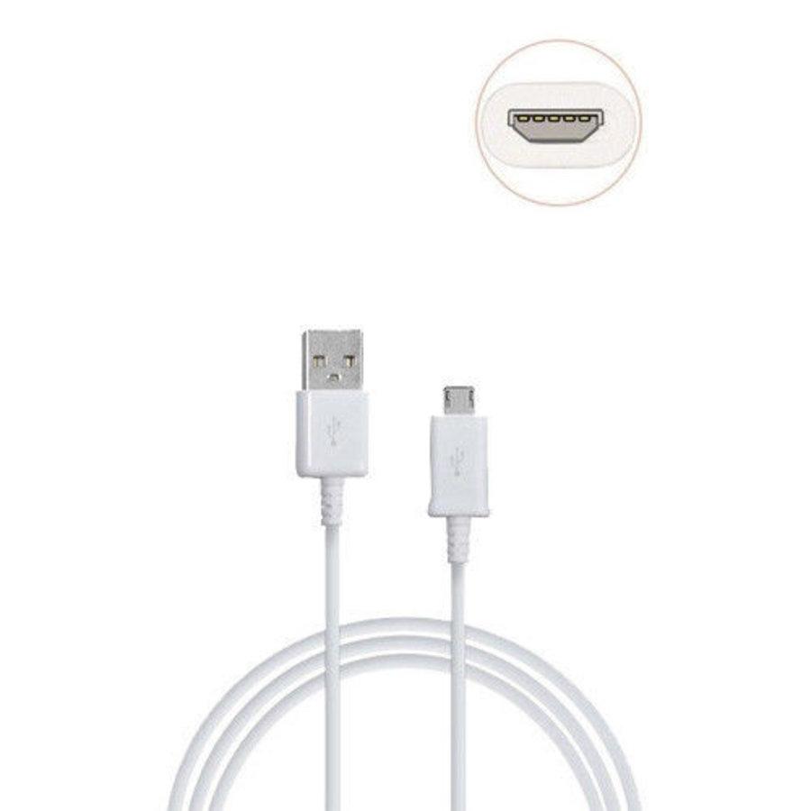Micro USB Kabel 1M voor Samsung, Huawei, Nokia (OEM)-2