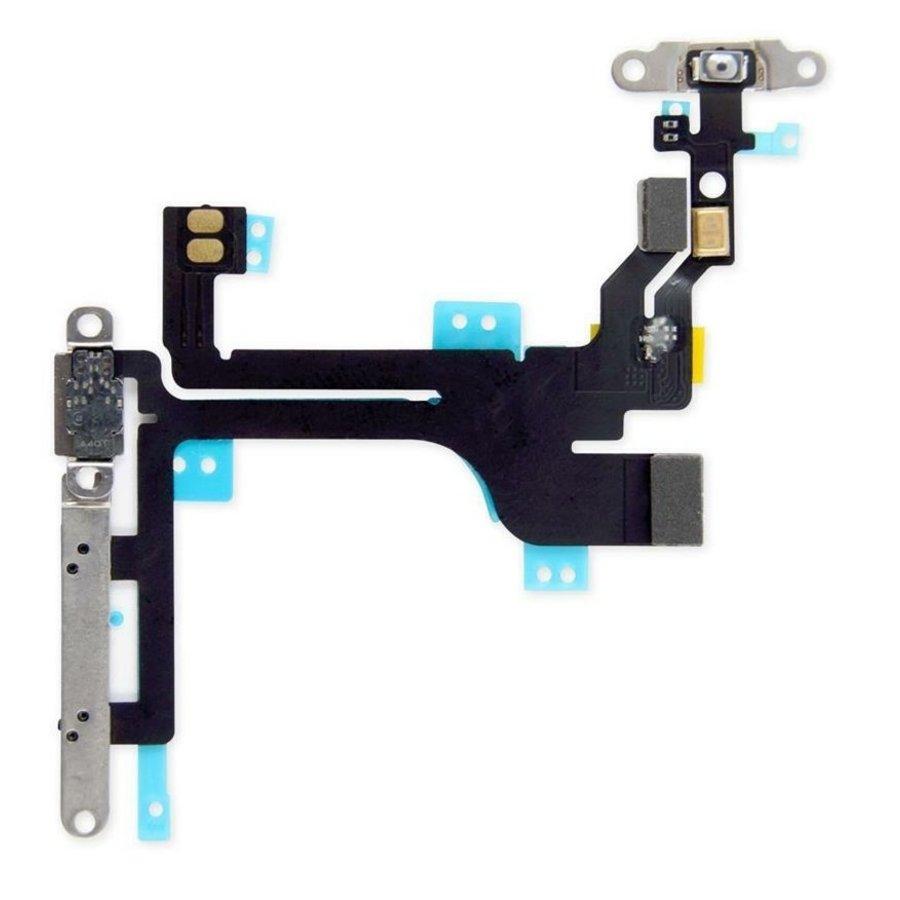 iPhone 5c aan en uit knop flexkabel-1