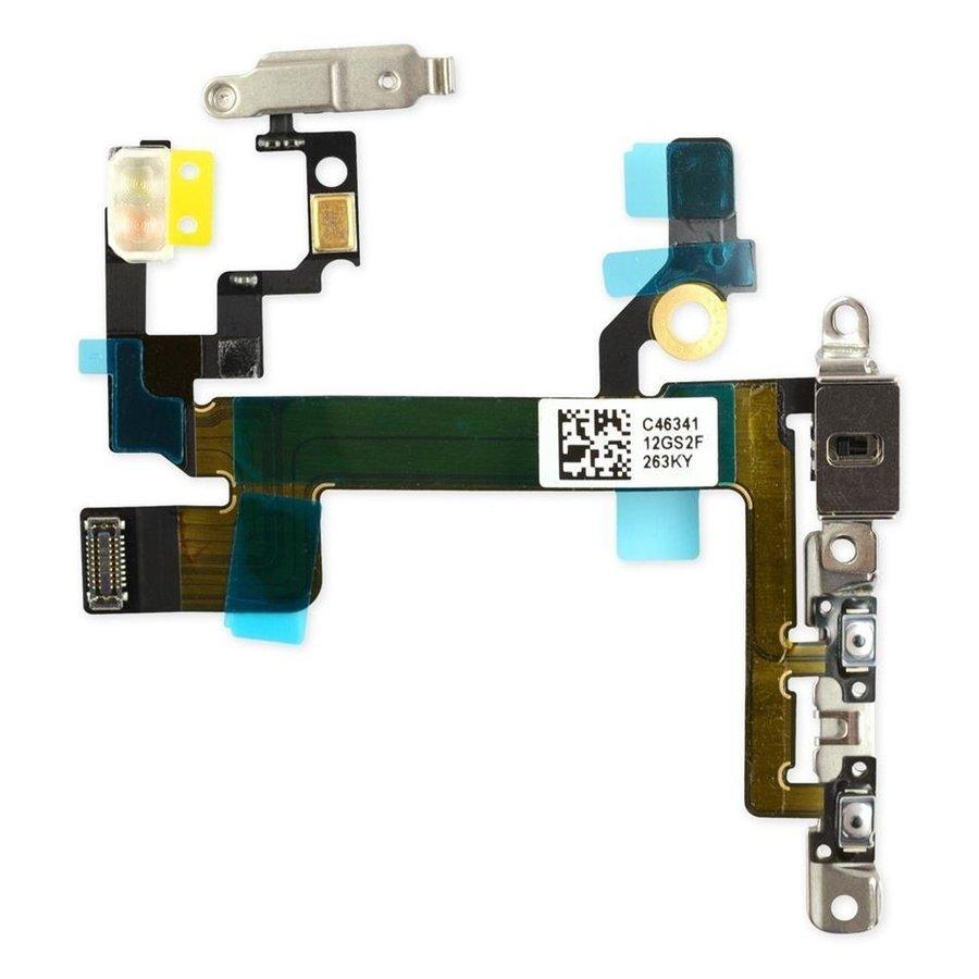 iPhone 5S aan en uit knop flexkabel-1