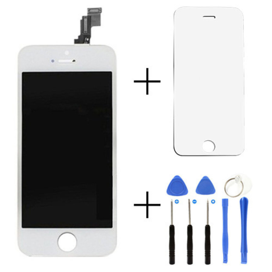 Apple iPhone 5S/SE voorgemonteerd beeldscherm en LCD-2