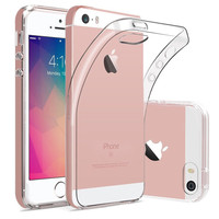 thumb-iPhone 5 / 5S / SE Hoes Transparant Case-1