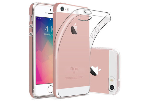 iPhone 5 / 5S / SE Hoes Transparant Case