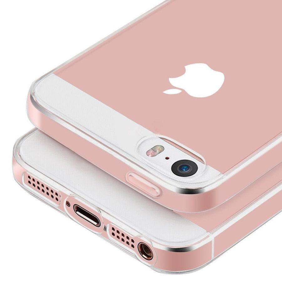 iPhone 5 / 5S / SE Hoes Transparant Case-3