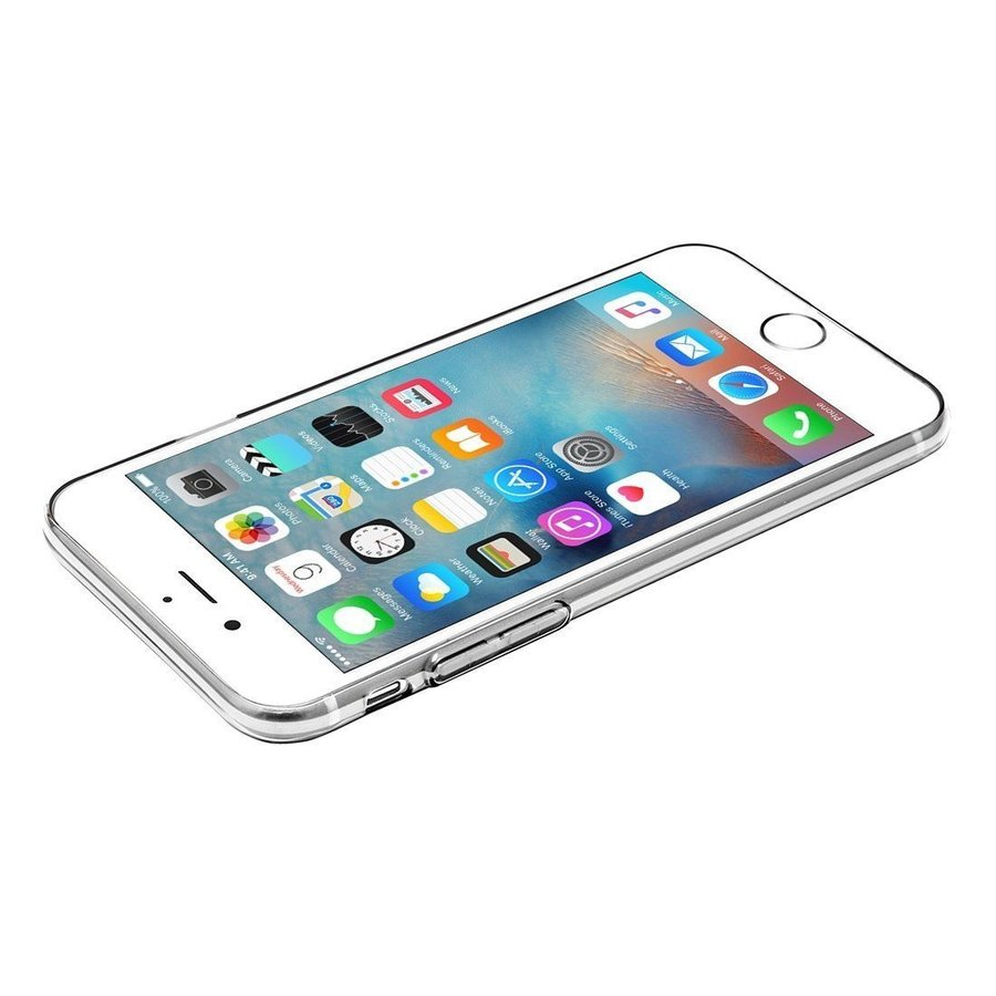 iPhone 6 / 6S Cover Transparant Case-2