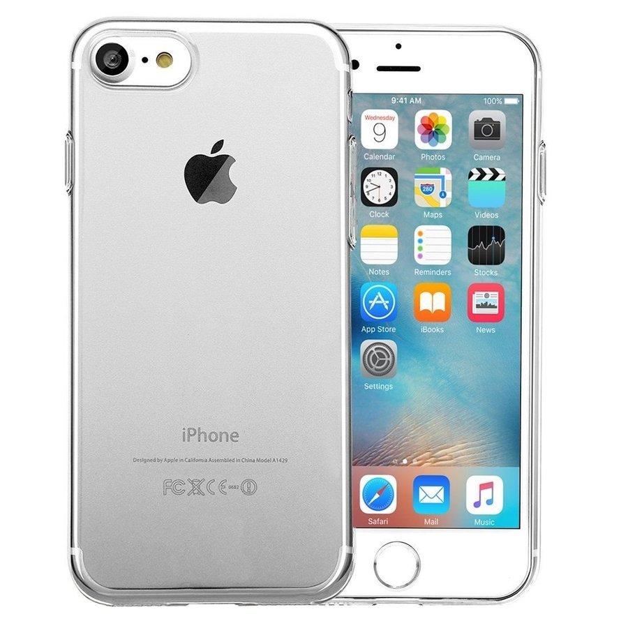 iPhone 6 Plus/ 6S Plus Hoes Transparant Case-1
