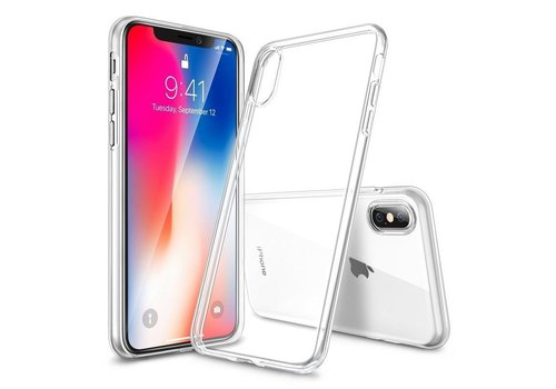 iPhone X / XS Hoes Transparant Case
