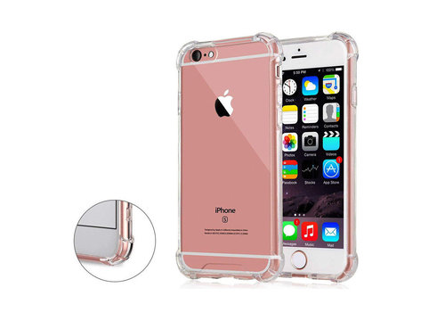 iPhone 6 / 6S Cover Transparant Shockproof Case