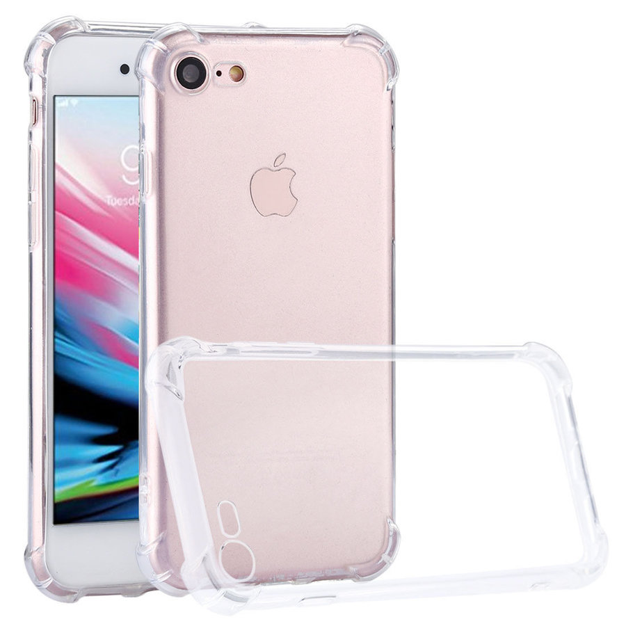 iPhone 7 / 8 Hülle Transparent Shockproof Case-1