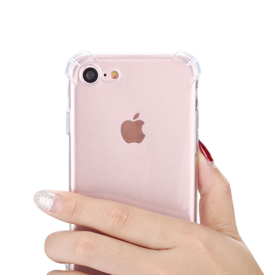 iPhone 7 / 8 Hoes Transparant Shockproof Case-2