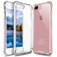 thumb-iPhone 7 Plus/ 8 Plus Hoes Transparant Shockproof Case-1