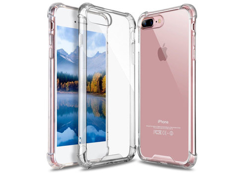 iPhone 7 Plus/ 8 Plus Hoes Transparant Shockproof Case