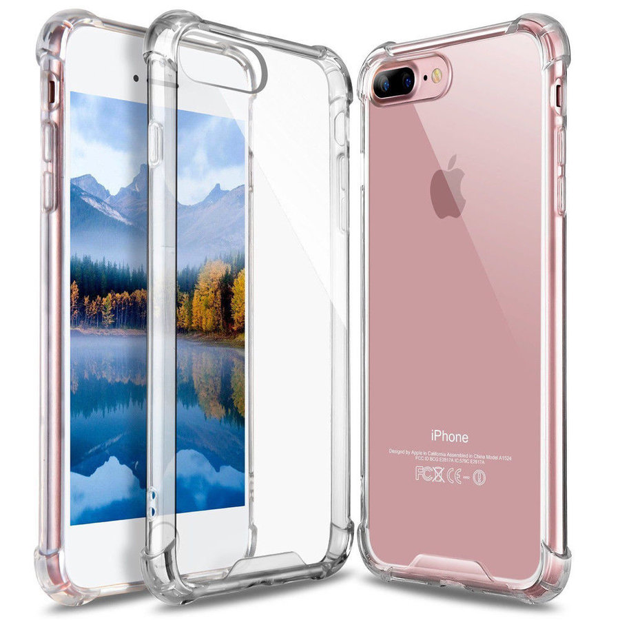 iPhone 7 Plus/ 8 Plus Hoes Transparant Shockproof Case-1