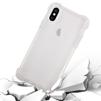 thumb-iPhone X / XS Cover Transparant Shockproof Case-2