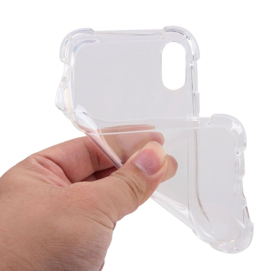 iPhone X / XS Hülle Transparent Shockproof Case-3