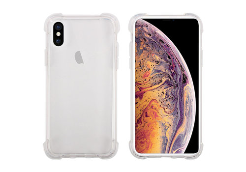 iPhone X / XS Hoes Transparant Shockproof Case